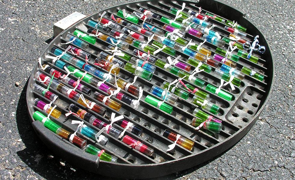 Sun-baking-PETE-beads
